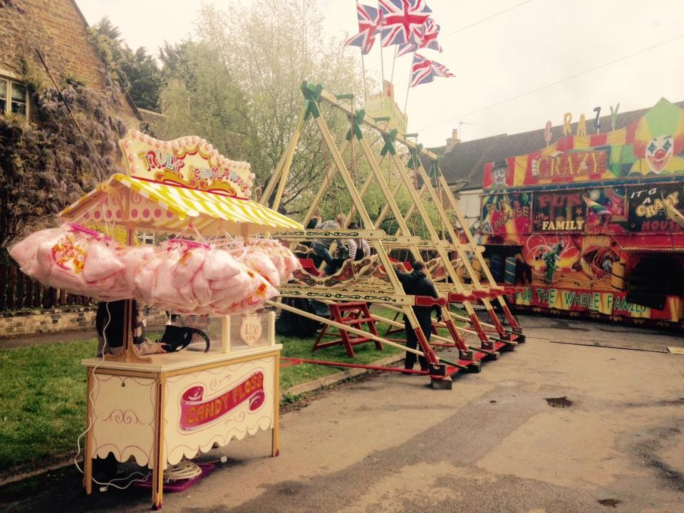 Braunston may fayre funfair