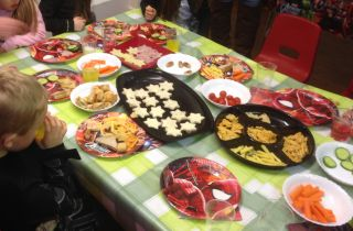 Braunston party food